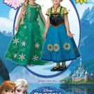 Simplicity 1097 Sewing Pattern For Disney Frozen Anna & Elsa Child's Costumes Sz 3 - 8
