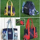 Simplicity 1338 Craft Sewing Pattern for Totes in 3 sizes, Backpack, Change Purse &