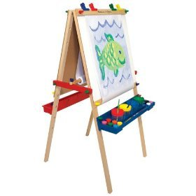 Melissa & Doug Deluxe Standing Easel Includes Shipping