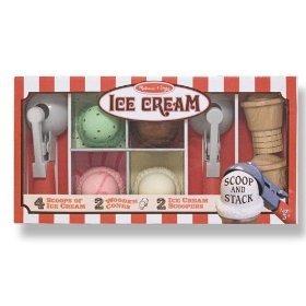 Melissa & Doug Deluxe Ice Cream Parlor Set Includes Shipping