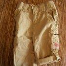 girls 9 month tan pants