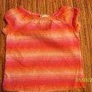 6m pink striped shirt