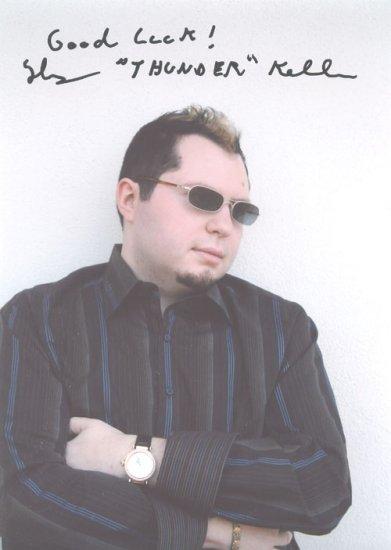 Poker Pro Thomas Keller Signed 5x7 Photo