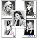 The Price is Right Barker's Beauties Signed Photo Set