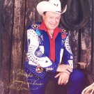 Little Jimmy Dickens signed 8x10 Color Photo