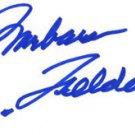 "Barbara Feldon Signed Autographed ""Get Smart"""