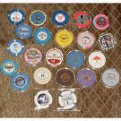 Casino Chip Lot Collection