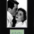 Dorothy McGuire Matted Signature Ensemble