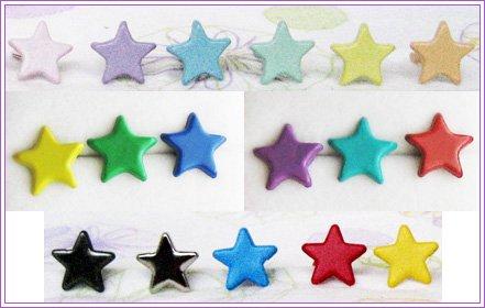 Flat Star Studs #310