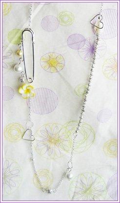 Annie Silver Necklace #501