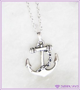 Anchor Necklace #521