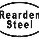Rearden Steel Oval Car Sticker