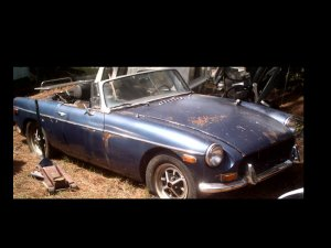 1973 MG Midget Convertable