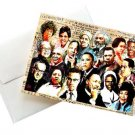 Black History Month Leaders Note Card with Envelopes Set of (6)