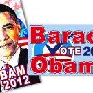 Obama 2012 Mini Magnets Set of 2