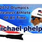 Michael Phelps 2012 Olympics Bookmark
