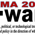Obama Forward 2012 White Bookmark