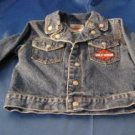 Boys Official Harley Davidson jean jacket
