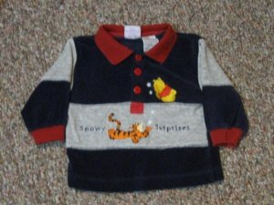 Boys 6-9 month Winnie The Pooh long sleeved shirt