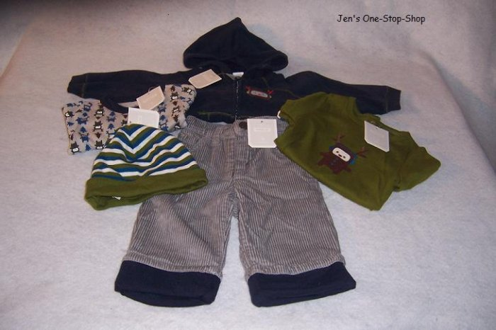 Boys 3-6 month Old Navy lot, 5 pieces - all NWT