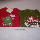 Boys 3-6 month Old Navy christmas onsies, set of 2 - NWT