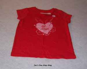 Girls 2T red Old Navy Valentine's Day shirt - NWT