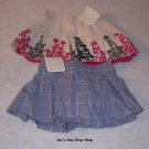 Girls 3-6 month Old Navy skirts, set of 2 - both NWT