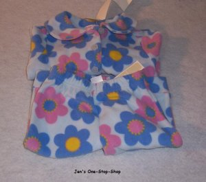 Girls 3-6 month Old Navy flowered pajamas, 2 pieces - NWT