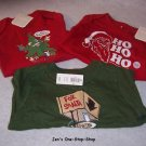 Boys 6-12 month Old Navy christmas set, 3 pieces - all NWT