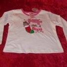 Girls 24 month long sleeve Christmas shirt - NWT