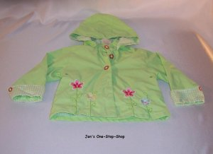 Girls 24 month green spring jacket