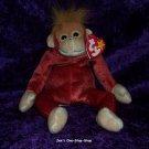 Schweetheart the Orangutan beanie baby - NWMT