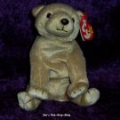 Almond the Bear beanie baby - NWMT