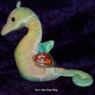 Neon the Seahorse beanie baby - MT