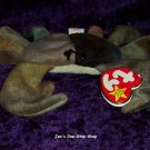 Claude the Crab beanie baby (darker color) - NWT
