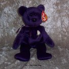 Princess the Bear beanie baby - NWT