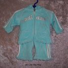 Girls 3 month Adidas outfit - 2 pieces