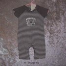 "Boys 0-3 month Old Navy ""Rock And Roll"" one piece - NWT"