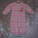 Girls 0-3 month Winnie The Pooh sleep bag