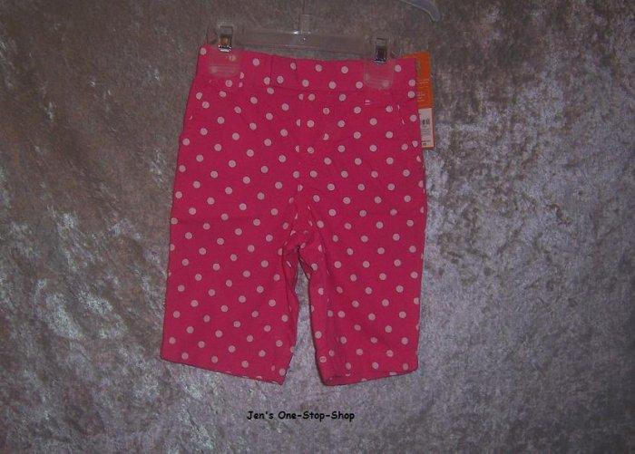Girls 18 month Carter's pink capri pants - NWT!!!