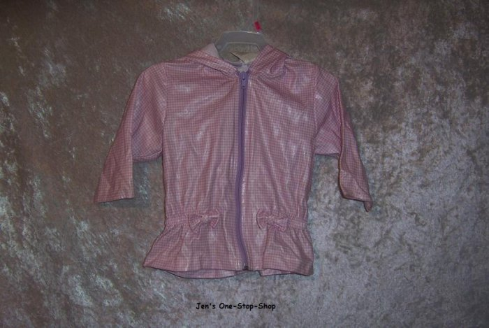 Girls 12 month Arizona rain jacket
