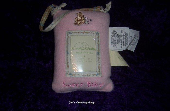 Classic Winnie The Pooh Doorknob Pillow - NEW!!