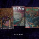 Harry Potter set - Years 1 through 3