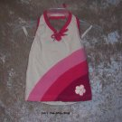 Girls 24 month The Children's Place white and pink halter top