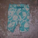 Girls 18-24 month Old Navy capris - blue and white