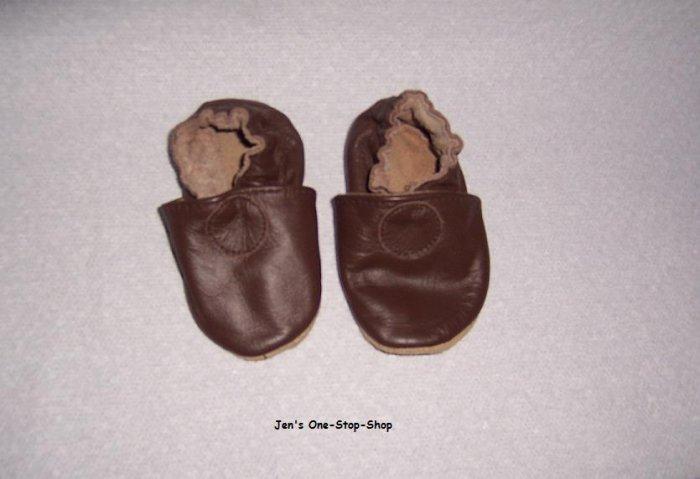 0-6 month brown Robeez - Never Worn!!!