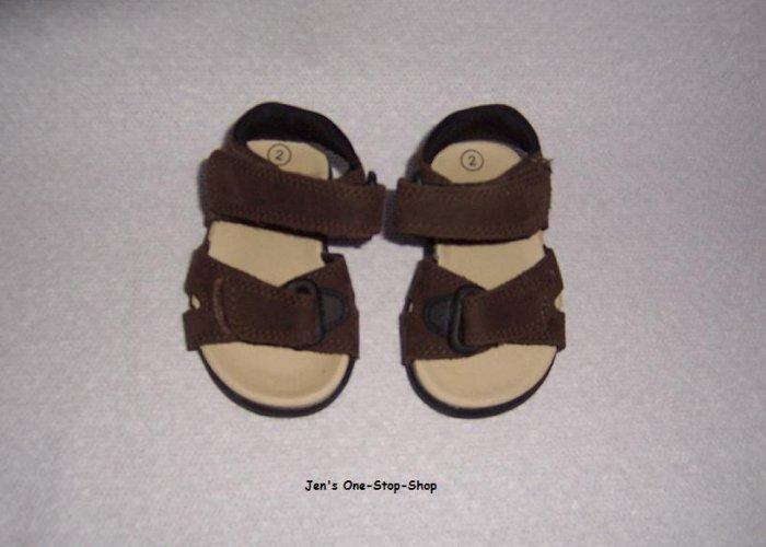 Boys (Infant) size 2 Baby Smart sandals - Still New!!!