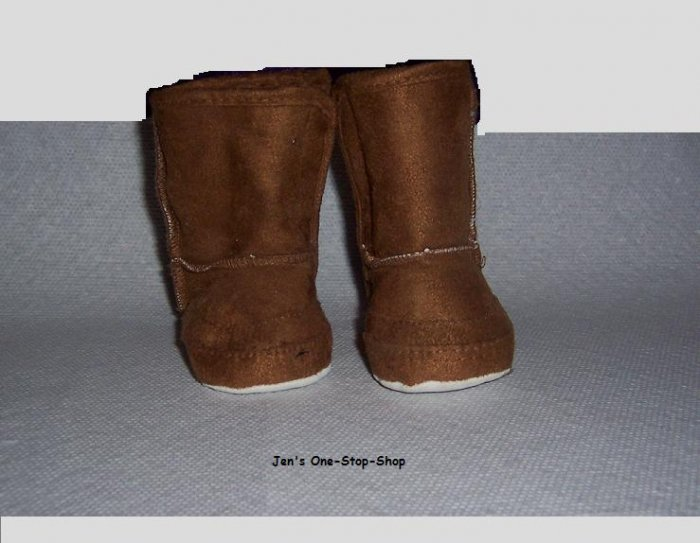 0-6 month Brown Boots