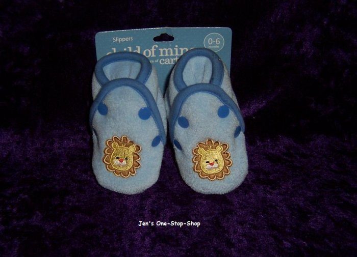 Boys 0-6 month Child Of Mine slippers - Brand New!!