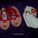 Girls size 1 (Infant) Warner Bros. Baby Tweety Bird shoes and socks set